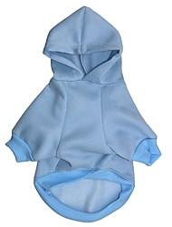 cheap -Cat Dog Coat Hoodie Dog Clothes Costume Polar Fleece Cotton Cosplay XS S M L