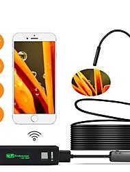 cheap -WIFI Endoscope Camera Mini Waterproof  Inspection Camera 8mm 1M 2M 5M USB Endoscope Borescope IOS Endoscope For Iphone