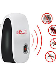 cheap -2pcs Electronic Mosquito Repellent Indoor Cockroach Mosquito Insect Killer Rodent Contro Ultrasonic Pest Repeller