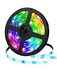 cheap -HKV® 5M LED Light Strips Flexible Tiktok Lights IP20 300led SMD 3528 8mm Diode Tape 12V LED Ribbon Ledstrip for Home
