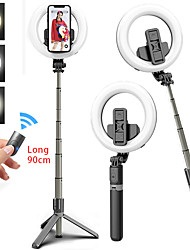 cheap -Portable bluetooth Selfie Stick Tripod Extendable Foldable Monopod Light 90cm Selfie Stick With Mobile Phone Universal