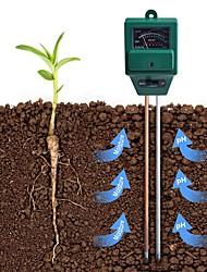 cheap -3 in 1 Plant Flowers Soil PH Tester Moisture Measuring humidity Light Meter Hydroponics Analyzer Gardening Detector Hygrometer