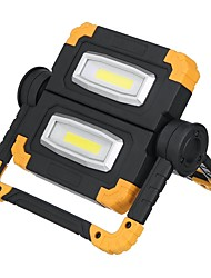 cheap -Rechargeable 180 Degree Rotable COB LED Work Light USB Charging 150W 6500K White for Outdoor Camping Car Reparing