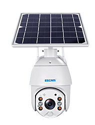 cheap -ESCAM QF280 1080P Cloud Storage PT WIFI Battery PIR Alarm IP Camera With Solar Panel Full Color Night Vision Two Way Audio IP66 With  Battery