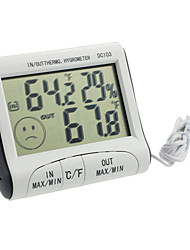Недорогие -dc103 цифровой жк-портативный крытый открытый термометр гигрометр
