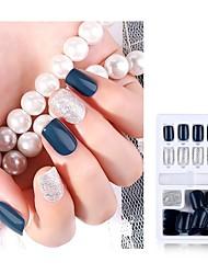cheap -30pcs Plastics Ergonomic Design Durable Romantic Fashion Office / Career Daily Artificial Nail Tips for Finger Nail / Romantic Series