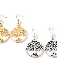 cheap -Women's Drop Earrings Hollow Out Earrings Jewelry Gold / Silver For