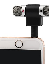 cheap -3.5mm Jack Microphone Stereo Mic For Recording Mobile Phone Studio Interview Microphone 4 pin For smartphone