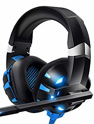 cheap -ONIKUMA K2pro K2 Pro Gaming Headset Headphone Xbox One Headset PS4 Headset with Mic & LED Light Compatible For PC, PS4, Xbox One, Computer Game, Laptop Tablet PC, Mobile Phone, Casque Gamer