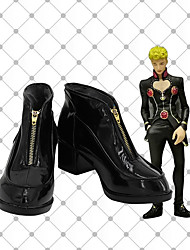 cheap -Cosplay Shoes JoJo's Bizarre Adventure Giorno Giovanna Anime Cosplay Shoes PU Leather Men's / Women's 855