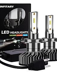 cheap -INFITARY High Brightness  Auto Car Headlight Bulb 72W 8000LM LED Car Bulb