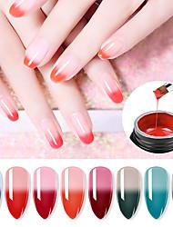 Недорогие -лак для ногтей уф-гель 80 мл 1 шт. клей для наращивания ногтей триколор термореактивный клей быстро растягивающееся масло для ногтей уф-гель 8 мл