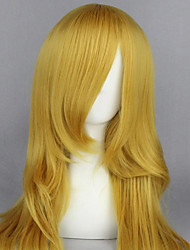 cheap -Cosplay Costume Wig Cosplay Wig Shugo Chara Straight Cosplay Asymmetrical With Bangs Wig Very Long Blonde Synthetic Hair 26 inch Women's Anime Cosplay Women Blonde