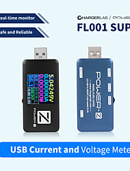 cheap -ChargerLAB Detector de Banco de energa FL001 SUPER (negro) POWER-Z tester de USB PD cargador voltaje medidor de corriente