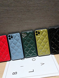 cheap -Solid Colored Leather Protection Cover for Apple iPhone Case 11 Pro Max X XR XS Max 8 Plus 7 Plus SE(2020)