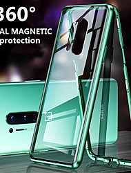 cheap -Magnetic Metal Double Side Tempered Glass Phone Case for OnePlus 8 OnePlus 8 Pro OnePlus 7 OnePlus 7T