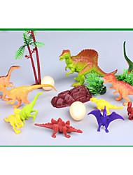 cheap -Dragon & Dinosaur Toy Dinosaur Figure Triceratops Jurassic Dinosaur Velociraptor Tyrannosaurus Rex Plastic Kid's Party Favors, Science Gift Education Toys for Kids and Adults