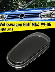cheap -Left Glass Car Headlight Lens Cover Housing For VW Golf MK4 GTI R32 1999-2005