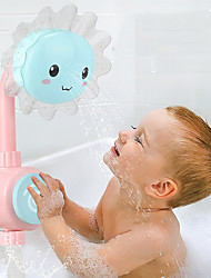 cheap -Bath Toy Water Toys Bathtub Pool Toys Bath Shower Head Bath Toys Bathtub Toy Sun Flower ABS Safety Fun Softness Tub Bathtime Bathroom Kid's Summer for Toddlers, Bathtime Gift for Kids & Infants
