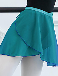 cheap -Ballet Skirts Bandage Tiered Women's Training Performance High Chiffon