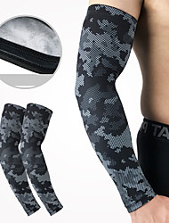 cheap -UV Sun Protection Cooling Arm Sleeves Compression Arm Cover Shield Sleeves Sun Sleeves Anti-Slip Ultraviolet Resistant Breathability Silicone Lycra Polyester for Fishing Hiking Outdoor Exercise 1