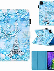 cheap -Case For Apple iPad Pro 11''(2020) / iPad 2019 10.2 / Ipad air3 10.5' 2019 Wallet / Card Holder / with Stand Full Body Cases Tower Butterfly PU Leather / TPU for iPad Air / iPad Air2 / iPad (2018)