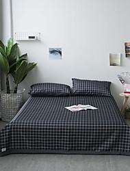 tanie -mata letnia - zestaw 3-częściowy / 1 prześcieradło i 2 poszewki na poduszki (tylko w rozmiarze twin 1 poszewka na poduszkę) / ultra jedwabisty miękki poliester / fajny i wygodny i oddychający /