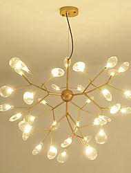 cheap -75 cm Sputnik Design Chandelier Metal Mini Painted Finishes LED 110-120V 220-240V
