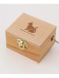 cheap -Music Box Unique Wood Women's Unisex Girls' Kid's Adults Graduation Gifts Toy Gift
