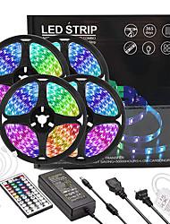 Недорогие -4x5m светильники RGB полосы света 1080 светодиодов 2835 SMD 8 мм 1 пульт дистанционного управления с 44 ключами 1x 1 - 4 разъем кабеля 1 х 12 В 5a блок питания 1 комплект