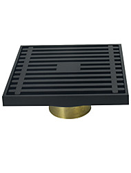 cheap -Drain Traditional / Classic Brass 1 pc - Hotel bath Floor Mounted