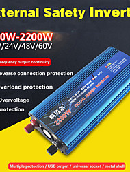 cheap -CARMAER inverter 12V / 24V / 220V 1600W car voltage converter car converter 12V / 24V 220V solar inverter car power inverter charger