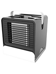 cheap -USB Rechargeable LED Personal Space Air Cooler Mini Air Conditioner Humidifier Home Office Appliance