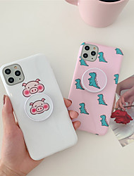 cheap -Cartoon TPU with Ring Holder Protection Cover  for Apple iPhone Case 11 Pro Max X XR XS Max 8 Plus 7 Plus SE(2020)