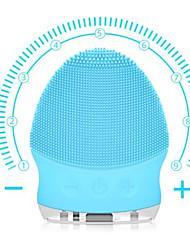 Недорогие -щетка для чистки лица электрический соник щетка для очистки лица водонепроницаемый мини силиконовый очиститель для лица массаж usb аккумуляторная