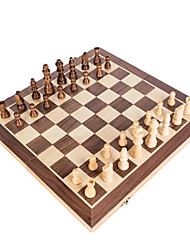 cheap -Chess Game Chess Educational Toy Wooden Kid's Unisex Toy Gift 1 pcs / 14 years+