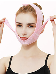 Недорогие -Подтягивающее средство для лица и лица Подтягивающая повязка для лица Подтягивание подтяжки в форме пояса Уменьшить двойной подбородок Массаж для похудения лица