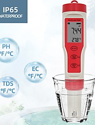 cheap -No battery EZ9908 Digital PH Meter 4 in 1 PH TDS EC Temp Tester Replace Probe Water Quantity Measure Tool Wine Urine Analyzer