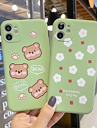 cheap -TPU Cartoon Flower Protection Cover for Apple iPhone Case 11 Pro Max X XR XS Max 8 Plus 7 Plus SE(2020)