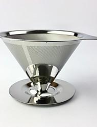 Недорогие -многоразовый держатель для кофе кофейный фильтр из нержавеющей стали для кофе