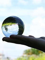 economico -Sfere di cristallo da 50 mm Sfere di vetro trasparente Sfere di vetro Sfere di vetro Sfere per fotografia Decorazioni artigianali in cristallo Feng Shui