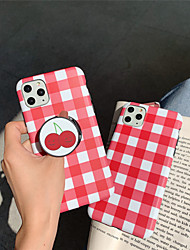 cheap -Lattice TPU with Ring Holder Protection Cover  for Apple iPhone Case 11 Pro Max X XR XS Max 8 Plus 7 Plus SE(2020)