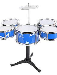 Недорогие -Барабанная установка Барабанная установка Джазовый барабан пластик для Детские Мальчики Девочки