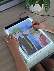 cheap -A4 Light Pad A4 Light Board Light Drawing Board Painting Toy Tracer for Drawing Plastic Portable LED Copy Kid's Boys and Girls for Birthday Gifts or Party Favors