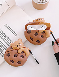 cheap -3D Bear pillow case for Apple airpods Pro 3  Cute funny cartoon Koala expression cover silicone earphone box ring Accessories