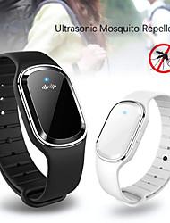 Недорогие -Pannow ультразвуковые браслеты от комаров нетоксичные электронные браслеты от насекомых комаров водонепроницаемый с usb rechagerable для детей, детей и взрослых
