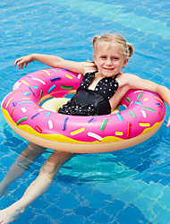 cheap -Donut Pool Float Swim Rings Pool Float Pool Floaties Inflatable PVC Summer Vacation Beach Swimming Pool Party Boys' Girls' Kid's