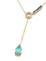 cheap -Women's Pendant Necklace Chain Necklace Dainty European Sweet Cute Copper Gold Silver 20 cm Necklace Jewelry For Party Evening Masquerade Engagement Prom Birthday Party