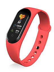 cheap -696 M45 Unisex Smart Wristbands Android iOS Bluetooth Waterproof Heart Rate Monitor Sports Hands-Free Calls Information Pedometer Call Reminder Activity Tracker Sleep Tracker Sedentary Reminder