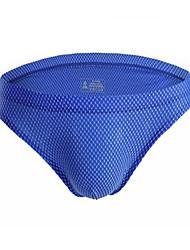 cheap -Men's Basic Briefs Underwear - Normal Low Waist White Blue Orange S M L